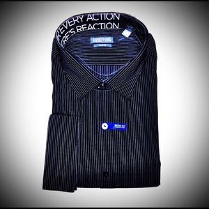 Brand New Slim Fit French Cuff Wrinkle Free Shirt